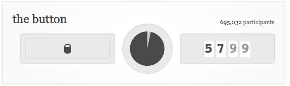 Die Zeit läuft: Screenshot des Reddit-Buttons.